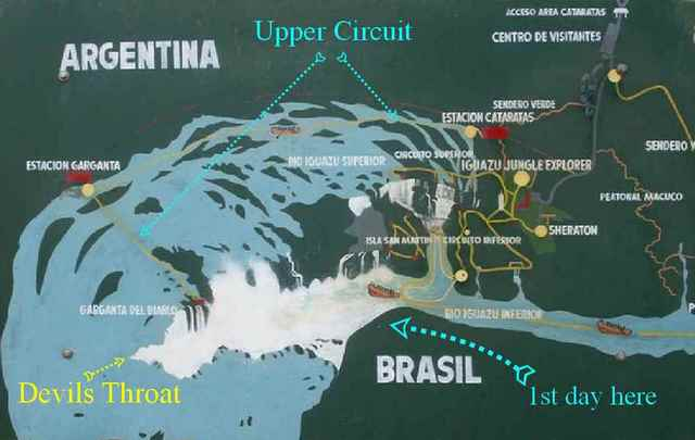 travel from buenos aires to iguazu falls by bus